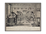 Workshop of an Engraver, 1642 Giclee Print by Abraham Bosse