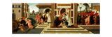 Last Miracle and the Death of Saint Zenobius, C. 1500 Giclee Print by Sandro Botticelli