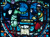 The Bakers, Stained Glass, Chartres Cathedral, France, 1194-1260 Photographic Print