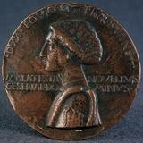 Medail to the Glory of Sigismondo Pandolfo Malatesta' (Obvers), 1446 Photographic Print by Matteo di Andrea de Pasti