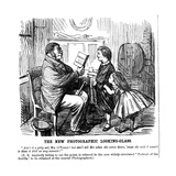 The New Photographic Looking Glass, Cartoon from Punch, Everyday Proof of Man's Origins, 1861 Giclee Print