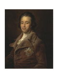 Portrait of Prince Alexander Kurakin (1752-181), 1782 Giclee Print by Pompeo Girolamo Batoni