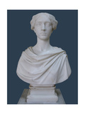 Portrait Bust of Countess Tatyana Stroganova, 1853 Giclee Print by Pietro Tenerani