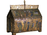 Reliquary with Scenes from the Life of Saint Valeria, C1170 Photographic Print