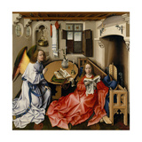 The Annunciation (Mérode Altarpiec), Ca 1428-1432 Giclee Print by Robert Campin