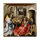 The Annunciation (Mérode Altarpiec), Ca 1428-1432 Giclee Print by Robert Campin