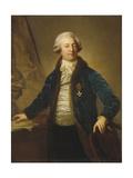 Portrait of Adrian Ivanovich Divov (1749-181), 1790S Giclée-tryk af Anton Graff