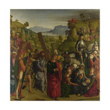 Christ Carrying the Cross and the Virgin Mary Swooning, C. 1501 Giclee Print by Boccaccio Boccaccino