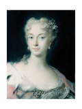 Maria Theresa, Archduchess of Habsburg (1717-178), 1730 Giclée-tryk af Rosalba Giovanna Carriera