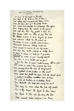 Original Manuscript of the Epilogue to the Idylls of the King, C1872 Giclee Print by Alfred Lord Tennyson