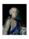 Crown Prince Frederick Christian of Saxony (1722-176), 1739-1740 Giclée-tryk af Rosalba Giovanna Carriera