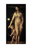Venus and Cupid, 1509 Giclee Print by Lucas Cranach the Elder