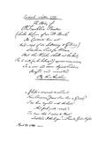Benjamin Franklin's Epitaph, Written by Himself, 1728 Giclee Print by Benjamin Franklin