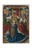 The Coronation of the Virgin (The Liesborn Altarpiec), C. 1520 Giclee Print by Jan Baegert