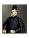 Portrait of Philip II (1527-159), King of Spain and Portugal, 1565 Giclee Print by Sofonisba Anguissola