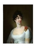 Portrait of Sophia Alexeyevna Rayevskaya, 1813 Giclee Print by Vladimir Lukich Borovikovsky