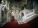 The Grand Staircase of the Winter Palace, 1756-1761 Photographic Print by Bartolomeo Francesco Rastrelli