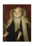 Elizabeth, Lady Hoby, Née Elizabeth Cooke (1528-160), Late 18th Cent. Giclee Print by Henry Bone