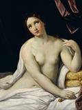 Lucretia Fotografisk trykk av Guido Reni