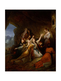 Greek Women Imploring at the Virgin of Assistance, 1826 Giclee Print by Ary Scheffer