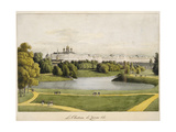 The Catherine Palace in Tsarskoye Selo, 1821-1822 Giclee Print by Andrei Yefimovich Martynov