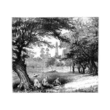 Phoenix Park, Dublin, C1888 Giclee Print