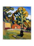 Decorative Landscape, 1928-1929 Giclee Print by Konstantin Nikolayevich Istomin