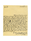 Letter from Alexander Pope to Charles Montagu, 3rd December 1714 Giclee Print by Alexander Pope