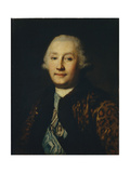 Portrait of Count Grigory Grigoryevich Orlov (1734-178) Giclee Print by Vigilius Erichsen