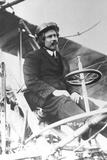 Samuel Franklin Cody (1862-191) in His Biplane Photographic Print