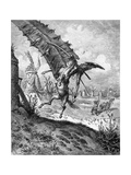Illustration to the Book Don Quixote De La Mancha by M. De Cervantes, 1863 Lámina giclée por Gustave Doré