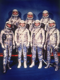 The Mercury Seven Astronauts, 1959 Photographic Print