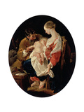 The Holy Family, 18th Century Giclee Print by Noel Halle