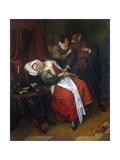 Doctor's Visit, C1660 Giclee Print by Jan Havicksz Steen