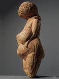 Female Figurine (Venus of Kostenk), 23,000-21,000 BC Photographic Print