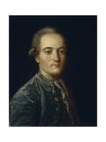 Portrait of Matvei Grigoryevich Spiridov (1751-182), 1776 Giclee Print by Mikhail Shibanov