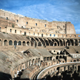 Upper Tiers of the Colosseum, Rome Photographic Print