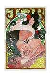 Advertising Poster for the Tissue Paper Job, 1896 Giclee Print by Alphonse Mucha