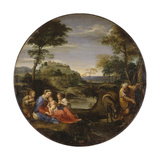 The Holy Family, C1604 Giclée-tryk af Annibale Carracci