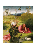 Saint John the Baptist in the Desert, Late 15th C Giclee Print by Hieronymus Bosch