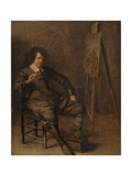 Portrait of a Painter in Front of His Easel, C.1630 Giclee Print by Pieter Codde