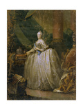 Portrait of Empress Catherine II (1729-179), 1765 Giclee Print by Heinrich Buchholz