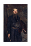 Portrait of the Artist Viktor Vasnetsov (1848-192), 1891 Giclee Print by Nikolai Dmitrievich Kuznetsov