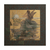 Composition with Winged Nymph at Sunrise, 1887 Giclee Print by Alejandro de Riquer Inglada