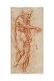 Saint John the Baptist (Stud), Ca 1518 Giclee Print by  Andrea del Sarto