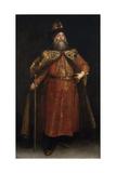 Portrait of the Ambassador Pyotr Ivanovich Potyomkin (1617-170), 1681 Giclee Print by Juan Carreño de miranda