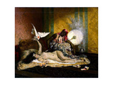 Odalisque, 1870S Giclee Print by Ferdinand Roybet