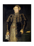 Catherine of Austria (1507-157), Queen of Portugal, 1552-1553 Giclee Print by Antonis Mor