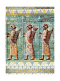 The Archers of Kiing Darius, Susa, Iran, 1933-1934 Giclee Print