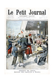 Return from China, Arrival of Repatriate, Toulon, 1901 Giclee Print
